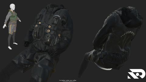 waistcoat. Marvelous Designer, project files