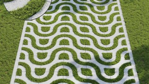 Grass & Eco-parking