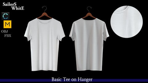Basic tee on hanger (FREE)