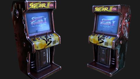 Cyber punk arcade machine design