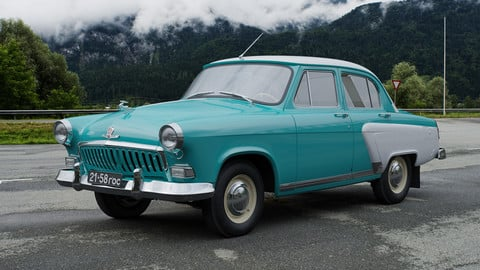GAZ-21I Volga 1958