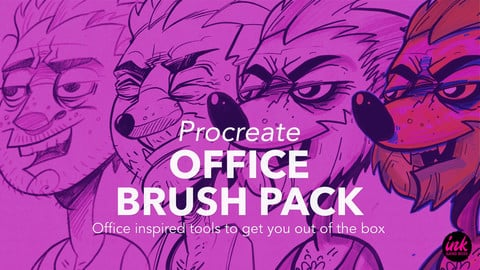 The Office Brush Pack for Procreate