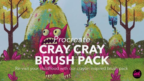Cray Cray Brush Pack for Procreate