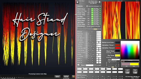 Hair Strand Designer  V1.424 + 1.5Demo(preview)