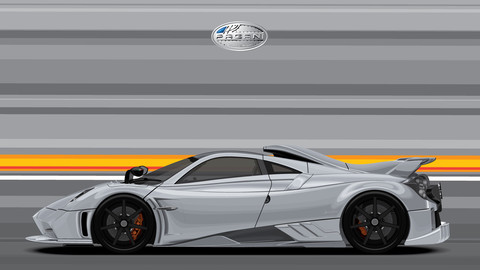 PAGANI IMOLA/Digital File Vector