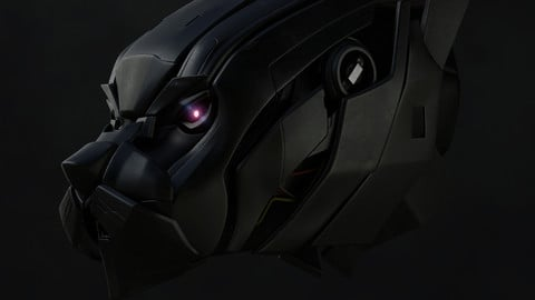 mecha panther head