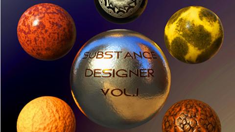 Substance Designer VOL.I-Criação de Materiais da Prática ao Portfólio - Part.02