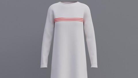 Female shirt dress