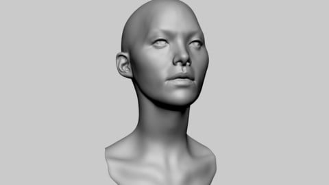 Base Female Head 05