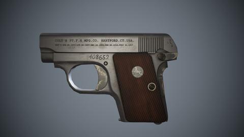 1908 Colt Hammerless Vest Pocket