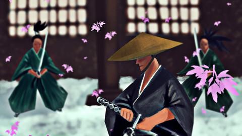 A Samurai (Digital Painting)