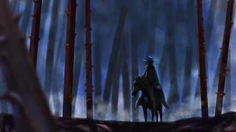 The Ranger (Digital Painting)