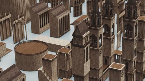 SFDEMIR Medieval Kitbash