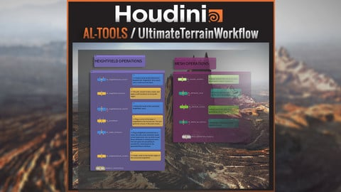 SideFX Houdini / AL_Tools - Ultimate Terrain Workflow