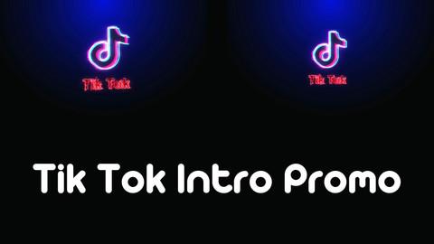 Tik Tok Intro Promo