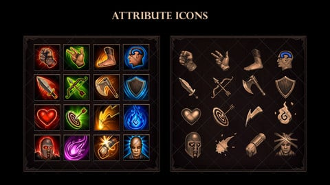 Attribute Icons