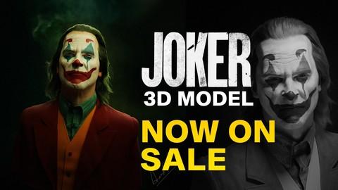 Joker - joaquin phoenix 3D Model