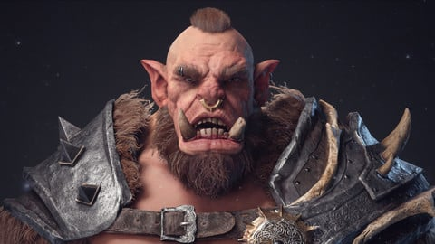 Zbrush highpoly orc