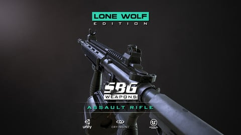 SBG Assault Rifle - Lone Wolf Edition