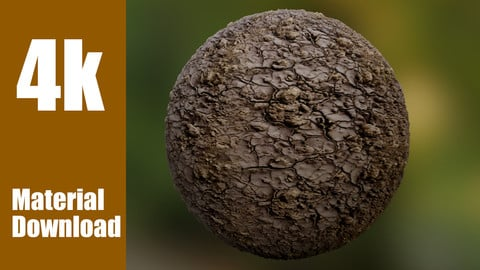 Realistic Ground Material Texture - Photoscan