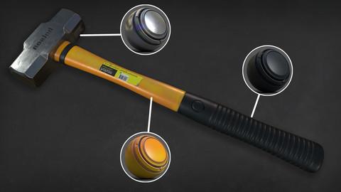 Sledgehammer Mesh + Textures + Smart Materials