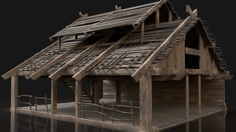 Forge Smithy Workshop Blacksmith Norseman Village Next Gen AAA
