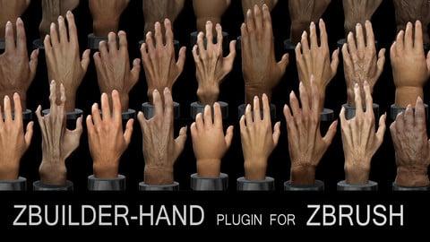 Human Zbuilder - Hand