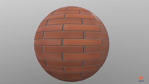 Brick texture pbr