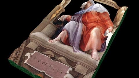 MICHELANGELO - SISTINE CHAPEL - EZECHIAS - PROPHETS SERIES