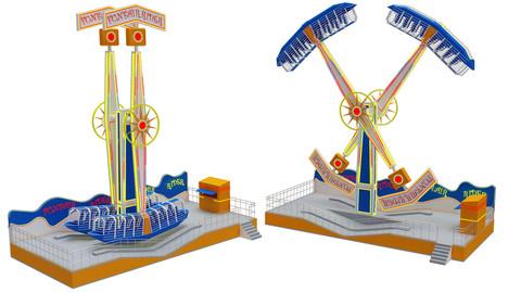 Funfair Rider 3D model