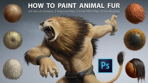 How To Paint Animal Fur