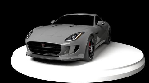 Jaguar F-Type High-poly