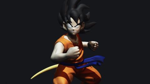Goku DBZ - Maeda Style 1989 STL