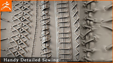 Hand Sewing seams brushes