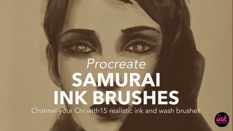 Procreate Samurai Inks Brush Pack