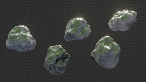 Photorealistic Rock Pack - 1