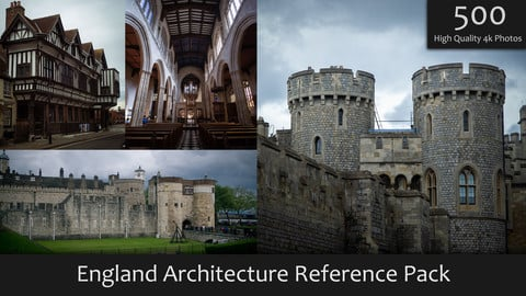 England Architecture Reference Pack