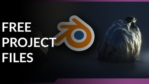 Blender 2.8 - Procedural Trash Bags - Source Files