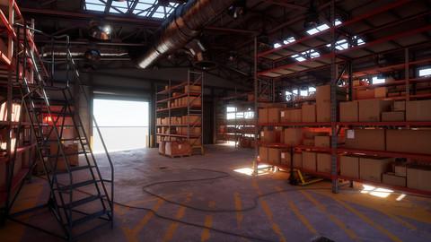Modular Industrial Warehouse