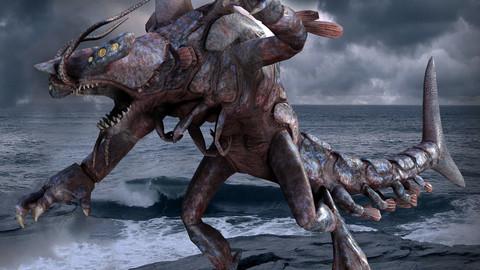 Shark Lobster Monster