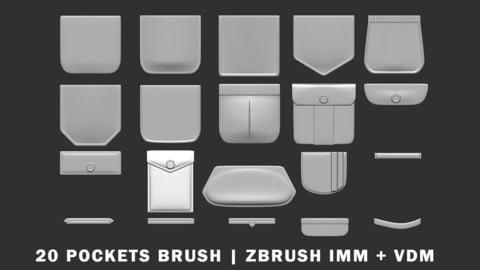 Pockets - zBrush IMM/VDM