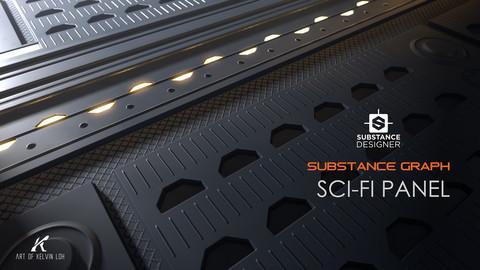Substance Graph | Sci-fi Panel