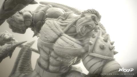 Hulk Gladiator - 3D Printing ready