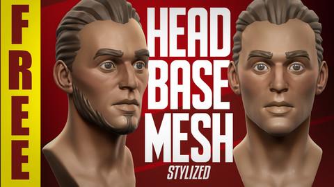 Stylized Basemesh Head