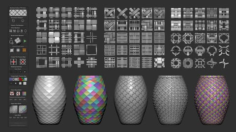 Bamboo Surface TTH tools plugin for Zbrush