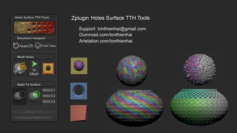 Holes Surface TTH Tools