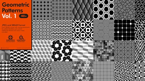 Geometric Patterns Vol. 1