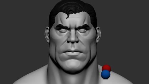Hero basemesh head 2