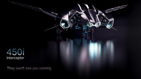 Sci-fi Spaceship|450i