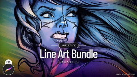 Line Art – Procreate Brushes